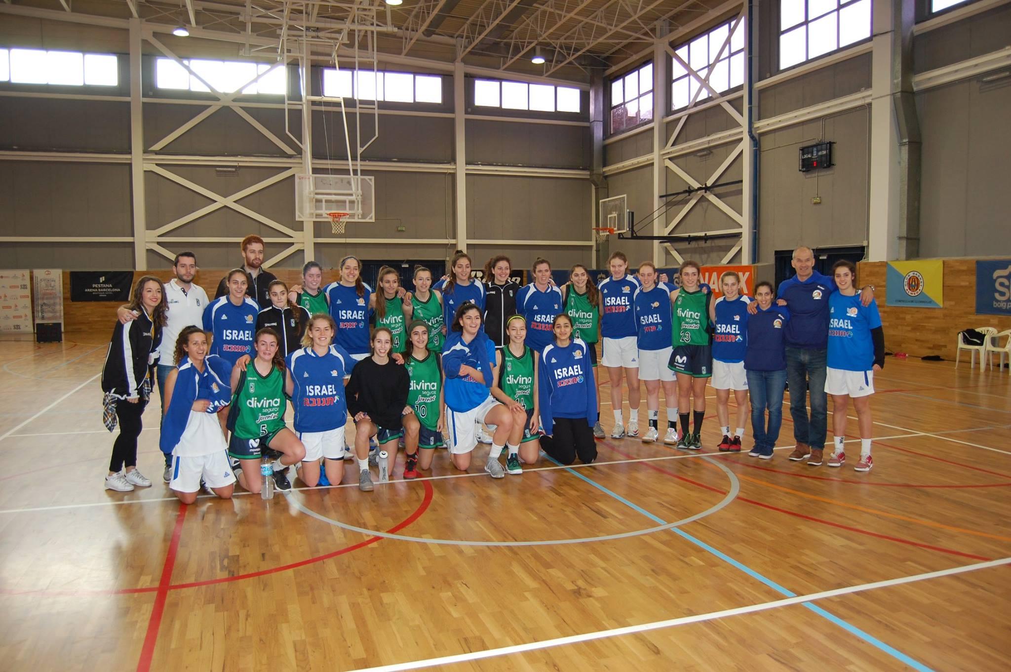 Israel Basketball Asociation vs Joventut Badalona